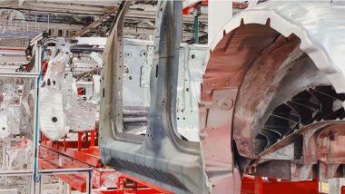 Nuova Tesla Model Y: lo stabilimento di Fremont
