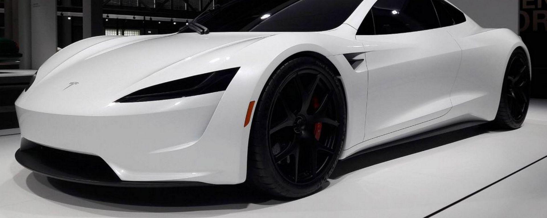 Tesla Roadster 2020: il prototipo visto da vicino