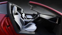 Nuova Tesla Roadster 2: l'elettrica che straccia le supercar - Immagine: 11
