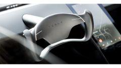 Nuova Tesla Roadster e il nuovo volante