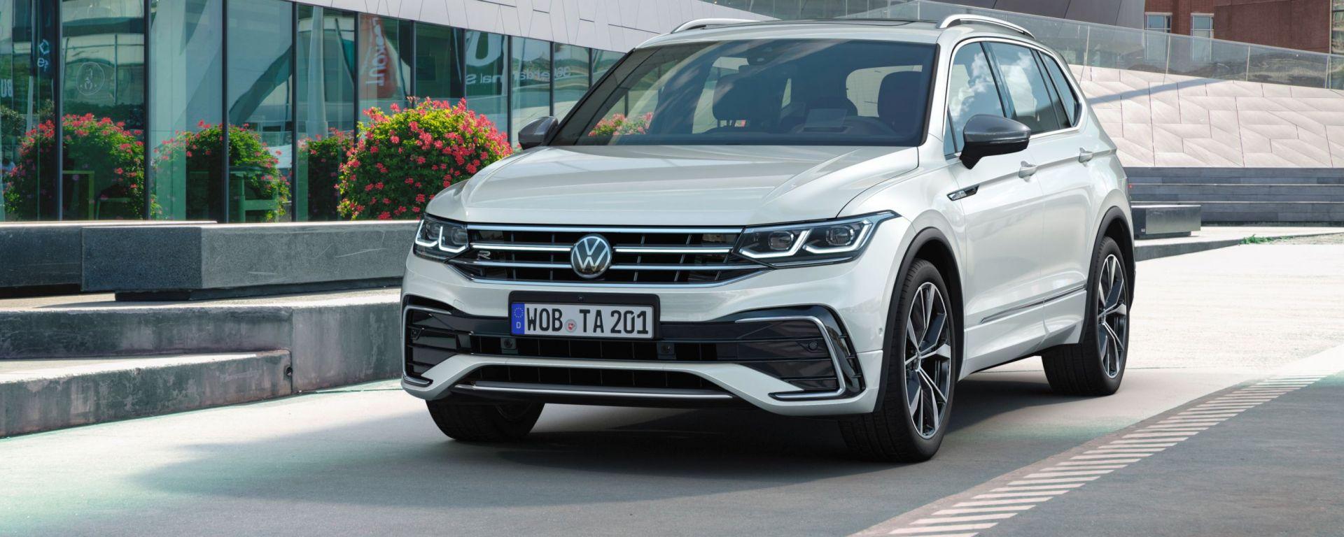 Nuova Tiguan Allspace 2021: aperti gli ordini del nuovo SUV tedesco