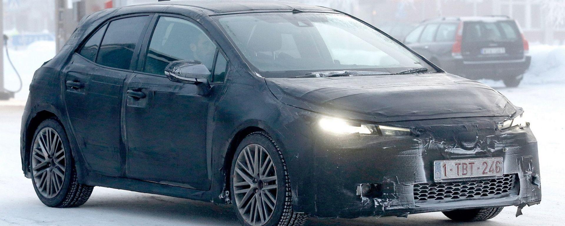 Nuova Toyota Auris: si avvicina il debutto?