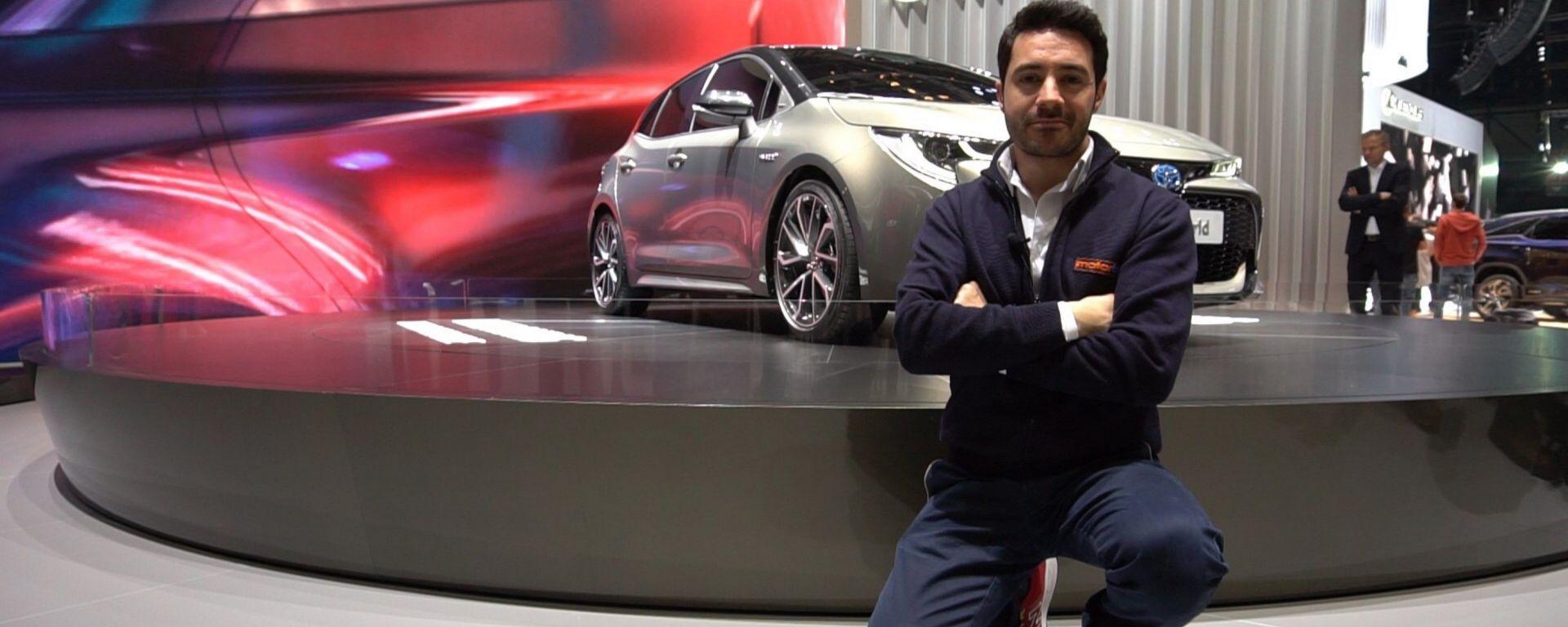 Nuova Toyota Auris hybrid: in video dal Salone di Ginevra 2018