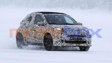Nuova Toyota Aygo, le nostre foto spia