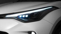 Toyota C-HR GR Sport, un Suv coupé inc***ato nero. Il prezzo - Immagine: 13