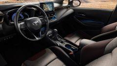 Nuova Toyota Corolla Touring Sports Trek: abitacolo personalizzato