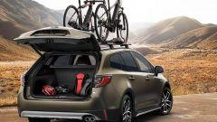 Nuova Toyota Corolla Touring Sports Trek: portellone elettrico