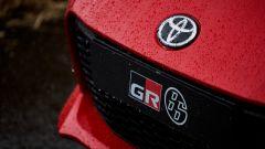 Nuova Toyota GR 86: un dettaglio sulla calandra della sportiva giapponese