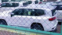 Nuova Toyota Land Cruiser 2022, dettaglio della 3/4 posteriore