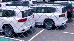 Nuova Toyota Land Cruiser 2022, il posteriore