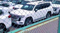 Nuova Toyota Land Cruiser 2022, vista 3/4 anteriore