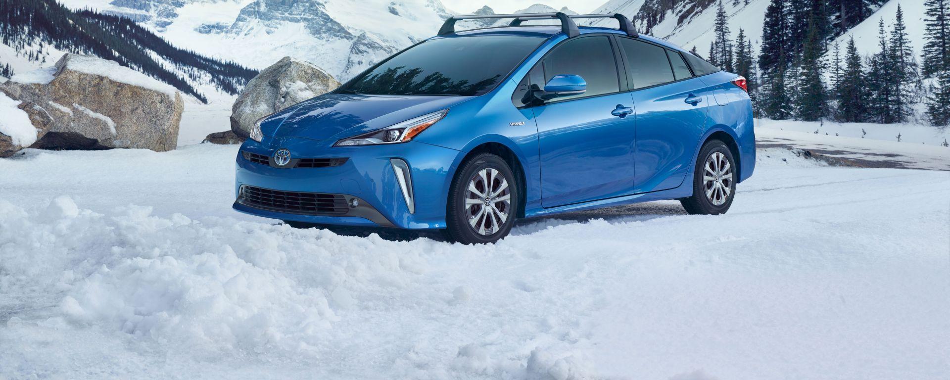 Nuova Toyota Prius AWD-e 2019