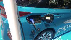Nuova Toyota Prius Plug-in Hybrid, ricarica
