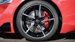 Nuova Toyota Supra 2019: dettaglio dello freno anteriore