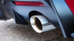 Nuova Toyota Supra 2019: dettaglio dello scarico