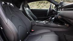Nuova Toyota Supra 2019: gli interni