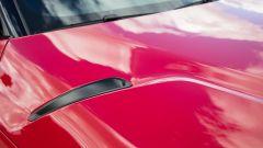 Nuova Toyota Supra 2019: gli sfoghi per l'aria calda sul cofano