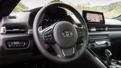 Nuova Toyota Supra 2019: il volante