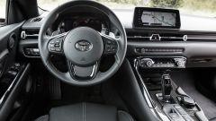 Nuova Toyota Supra 2019: la plancia