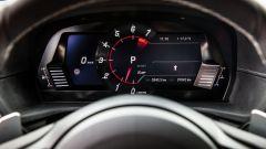 Nuova Toyota Supra 2019: la strumentazione digitale