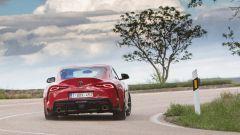Nuova Toyota Supra 2019: vista posteriore