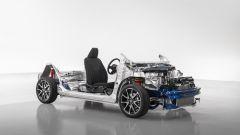 Nuova Toyota Yaris 2020: la piattaforma a nudo