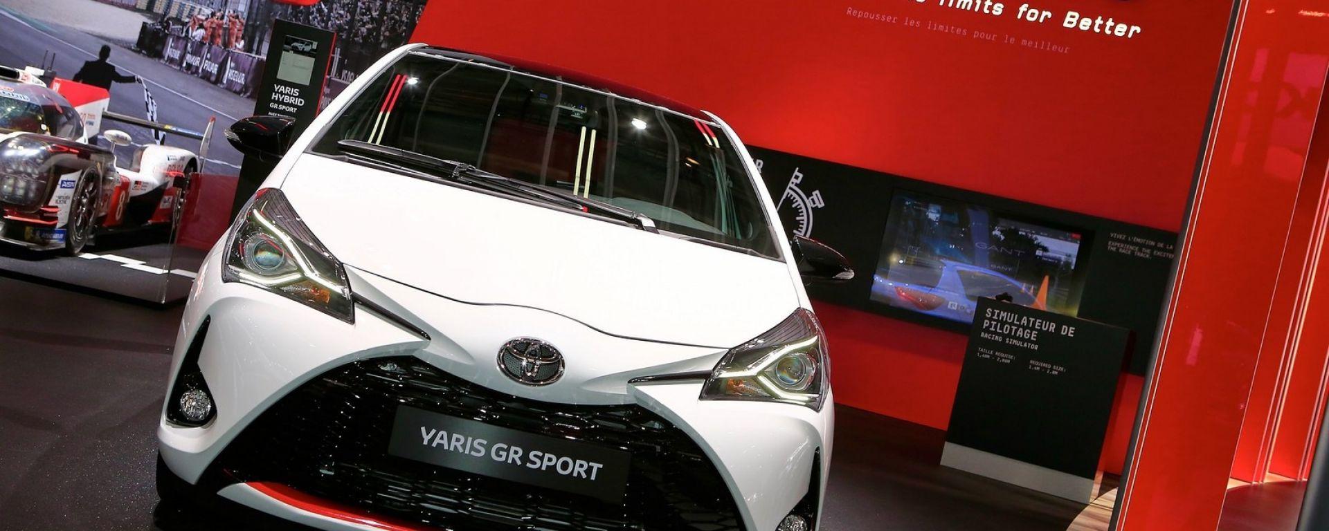 Toyota Yaris GR Sport, divertimento in salsa ibrida a Parigi