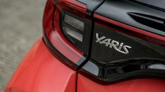 Nuova Toyota Yaris Hybrid, fari posteriori