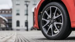 Nuova Toyota Yaris Hybrid, i cerchi in lega