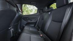 Nuova Toyota Yaris Hybrid, i sedili posteriori