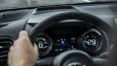 Nuova Toyota Yaris Hybrid, il quadro strumenti