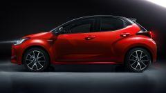Nuova Toyota Yaris, la fiancata