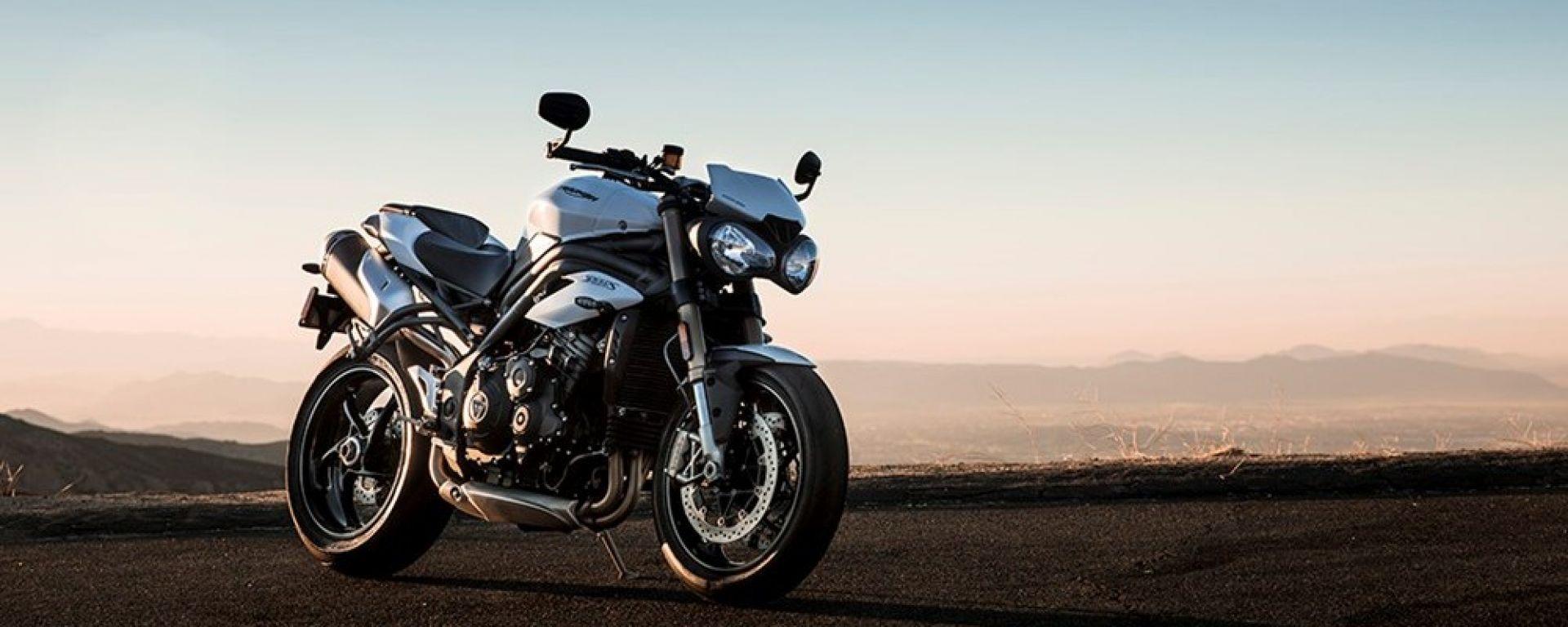 Nuova Triumph Speed Triple, è pronta a gettarsi nella mischia con un nuovo motore e una ciclistica più raffinata