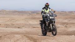 Nuova Triumph Tiger 800: la prova sulle dune del deserto