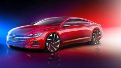 Nuova Volkswagen Arteon: dettaglio anteriore