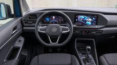 Nuova Volkswagen Caddy 2021, la plancia
