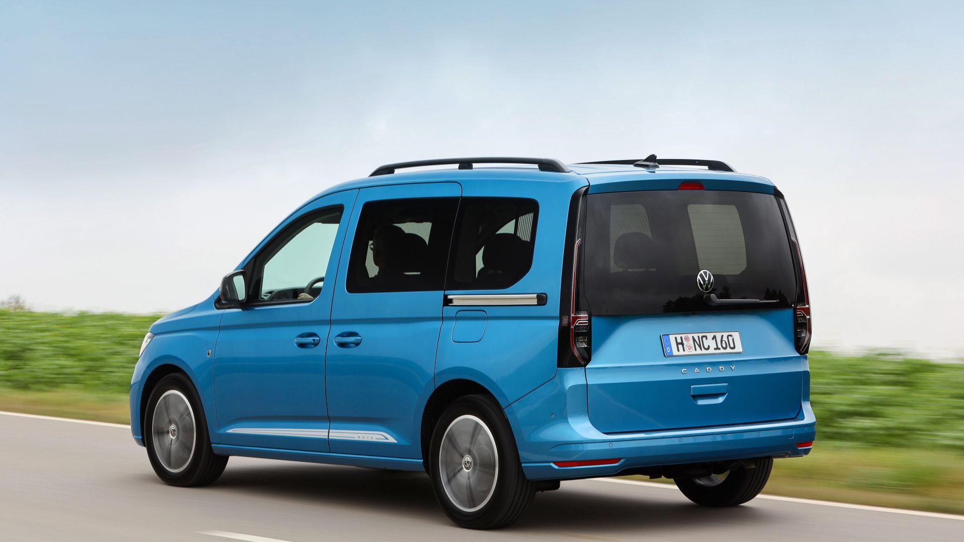 Nuovo Volkswagen Caddy 2021: monovolume, camper e van ...