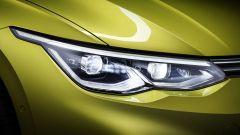 Nuova Volkswagen Golf 2020: il nuovo design dei proiettori anteriori