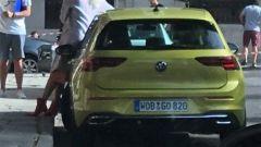 Nuova Volkswagen Golf 2020: il posteriore della Golf VIII