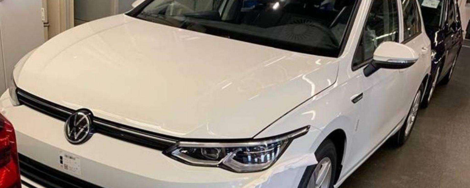 Nuova Volkswagen Golf 2020: le foto spia
