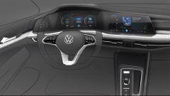 Nuova Volkswagen Golf 2020: le foto della Mk 8 messa a nudo - Immagine: 9