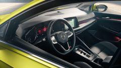 Nuova Volkswagen Golf 2020: visuale degli interni