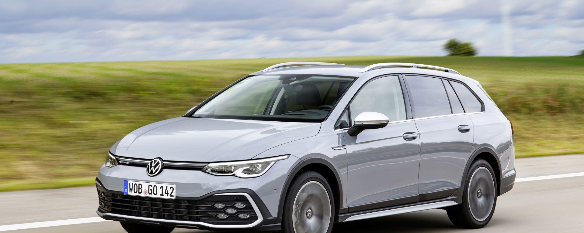Volkswagen Golf Alltrack, quando esce e quanto costa la 4x4