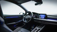 Nuova Volkswagen Golf 8 R, gli interni