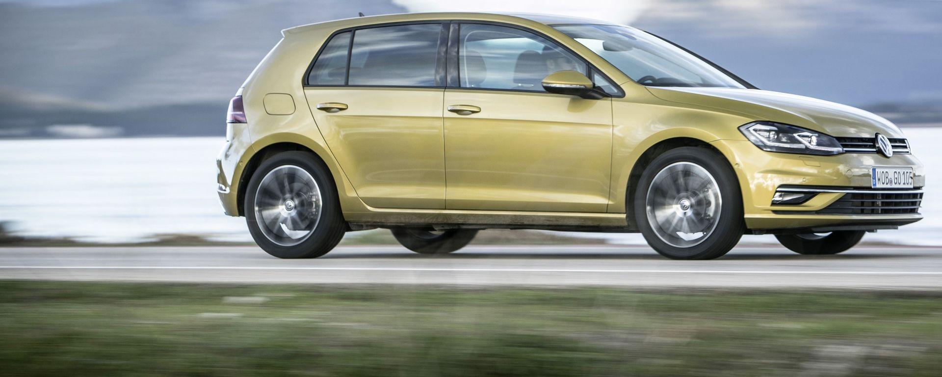 Nuova Volkswagen Golf, debutto rimandato al 2020