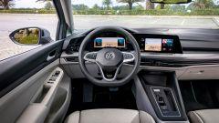 Nuova Volkswagen Golf, gli interni