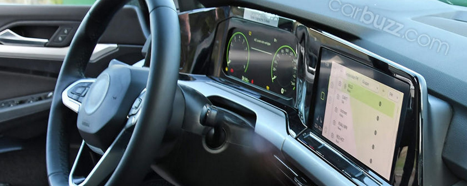 Nuova Volkswagen Golf, in anteprima gli interni