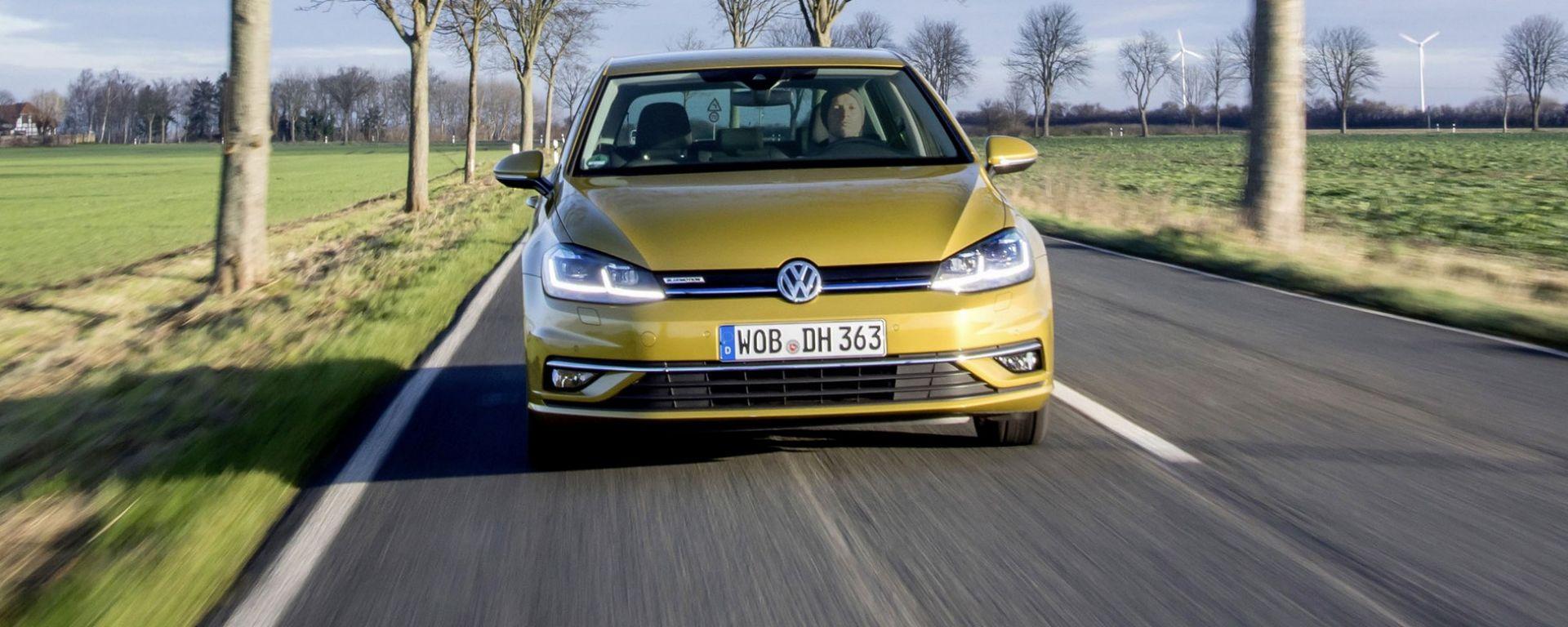 Nuova Volkswagen Golf TGI 2019, maggiore autonomia a metano