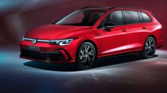 Nuova Volkswagen Golf Variant: 3/4 anteriore