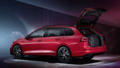 Nuova Volkswagen Golf Variant: 3/4 posteriore